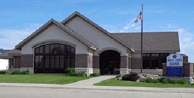 West Iowa Bank - Laurens office exterior